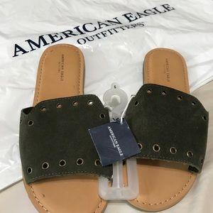 Open Toe Slide Sandals